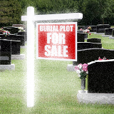 FAMILY COURT ORDERS HUSBAND TO TAKE BURIAL PLOTS