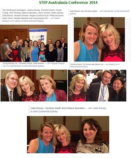 Christine Smyth Blog – STEP Australasia Conference Sydney 2014