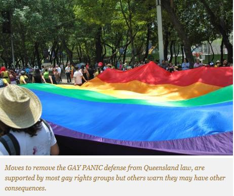Moves to remove gay panic from Queensland law raise questions on wording