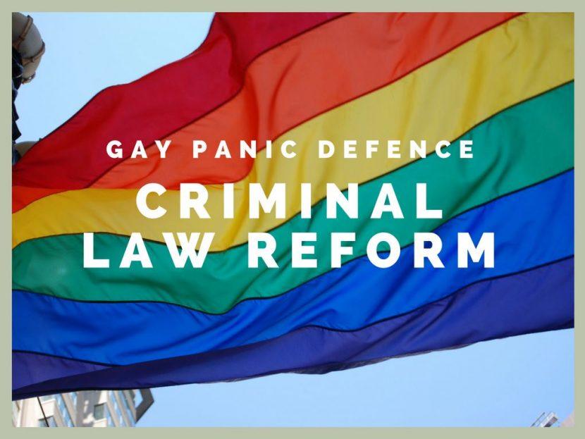 Gay Panic Defence – Criminal Law Reform