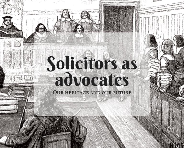 Proctor December 2017 Edition: Solicitors as Advocates