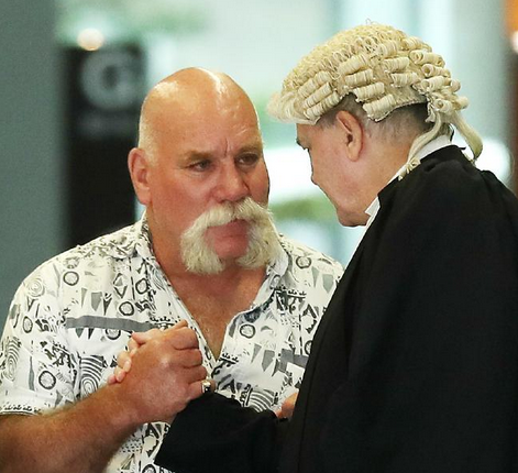 Peter Nixon walked free from court after being acquitted for helping his sick father John to die