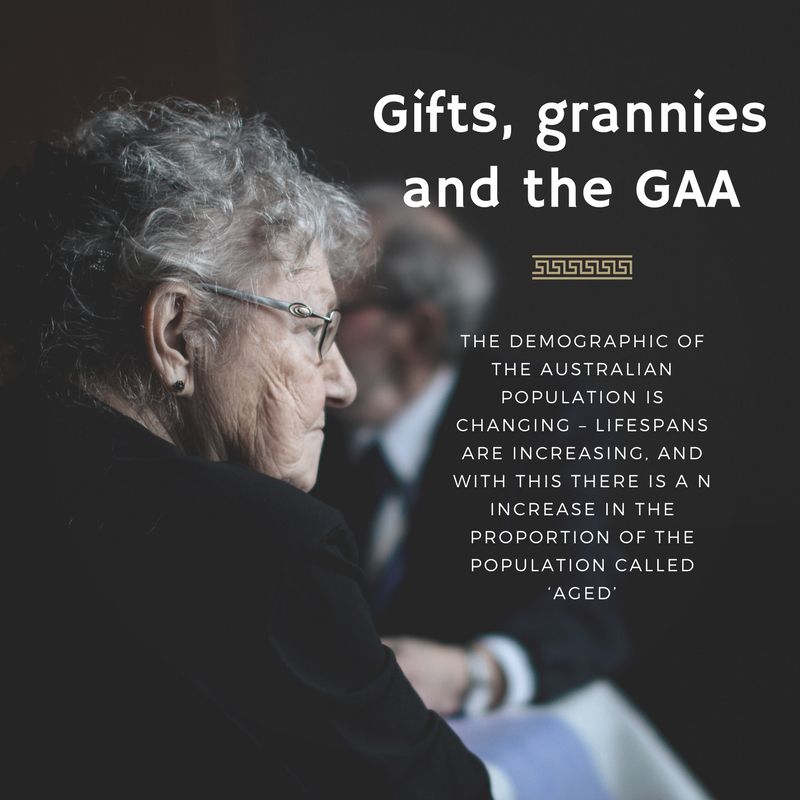 Gifts, grannies and the GAA