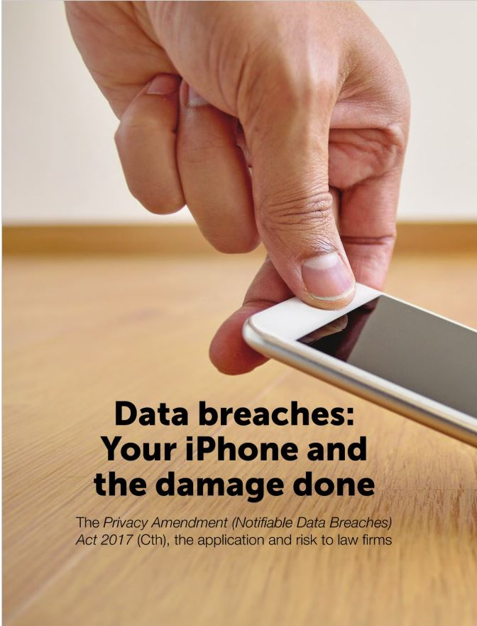 Data breaches: Your iPhone and the damage done