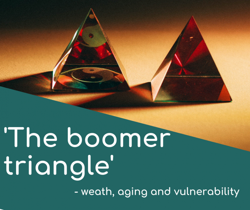 'The boomer triangle' – wealth, ageing and vulnerability