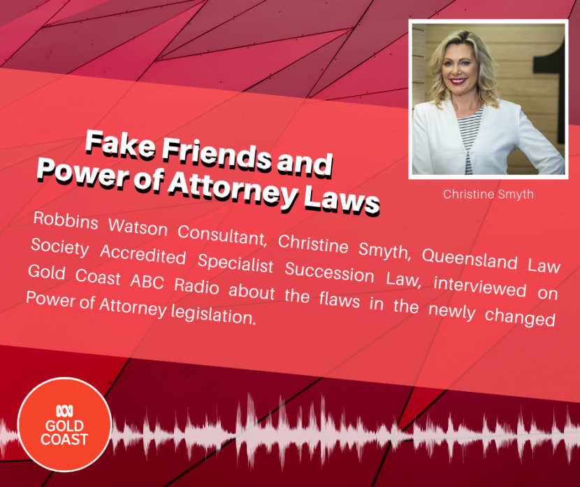 Fake Friends and Power of Attorney Laws