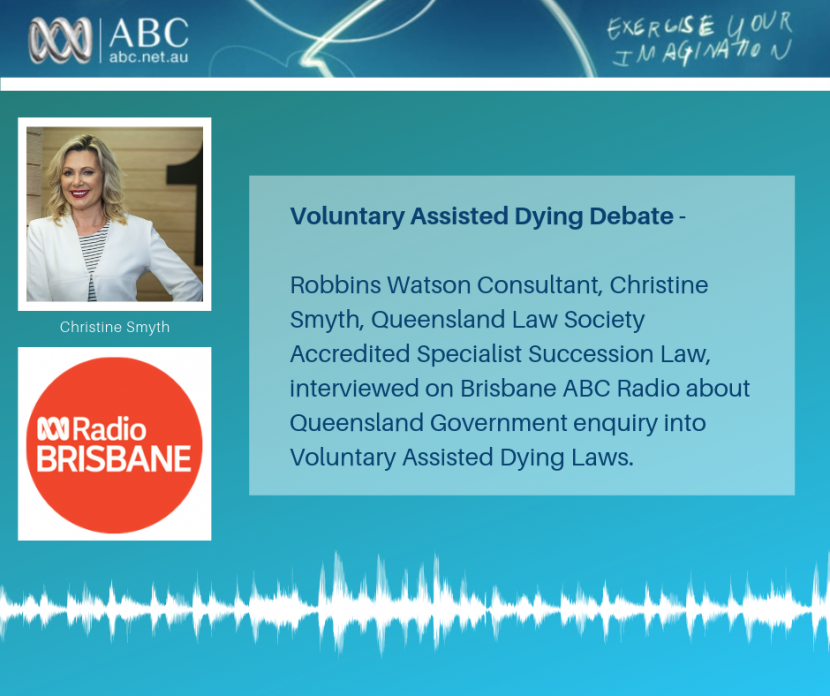 Voluntary Assisted Dying Debate