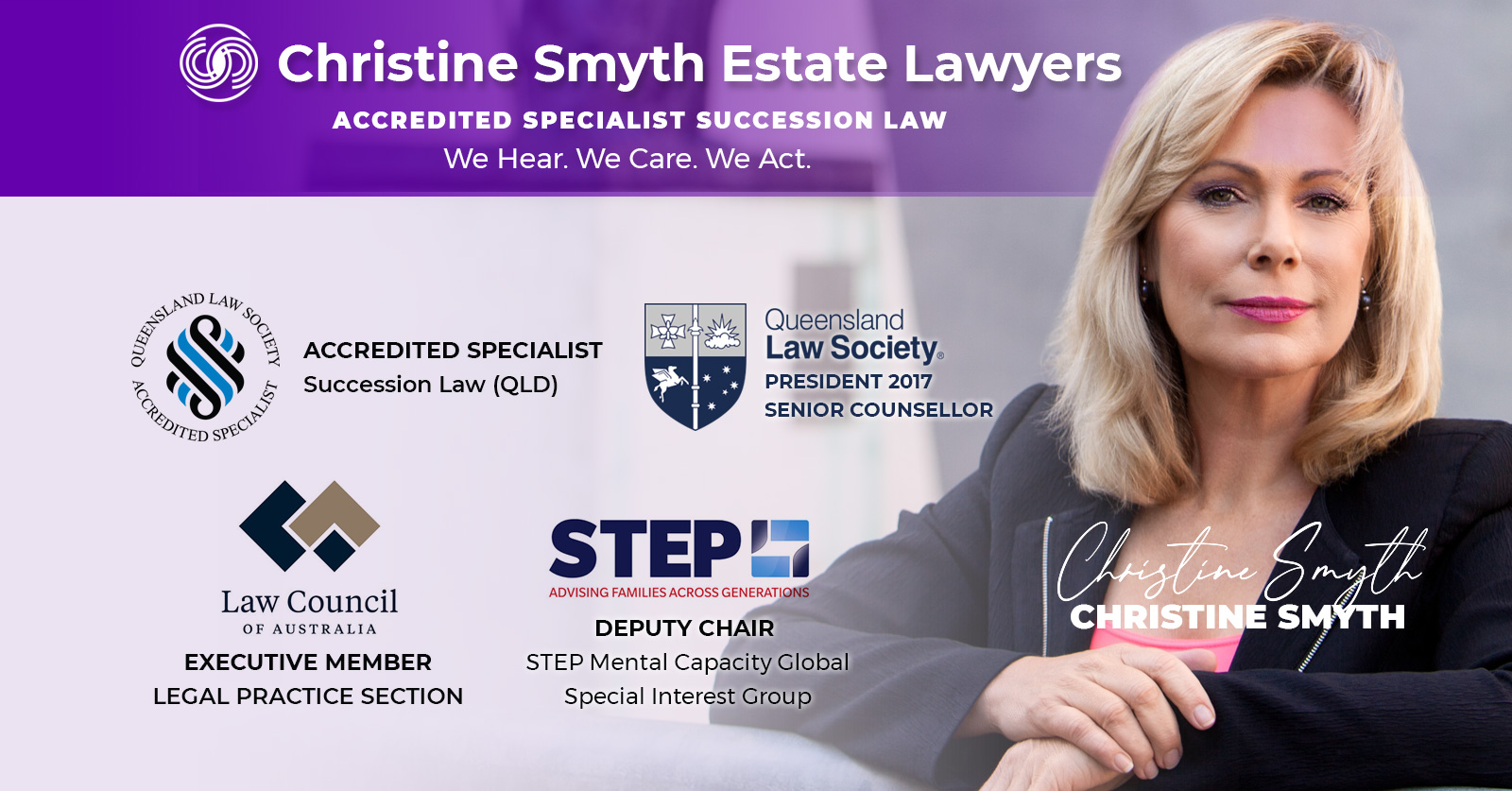 Christine Smyth Estate Law - Accredited Specialist Succession Law QLD