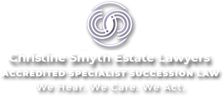 Christine Smyth Estate Law - QLD Accredited Specialist Succession Law